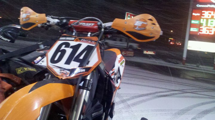 Motorsports Heading to ought6 Enduro in Cascade Montana. Of course it's snowing!