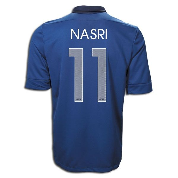Entertainment Youth NASRI France Home Soccer Jersey 2011/2012