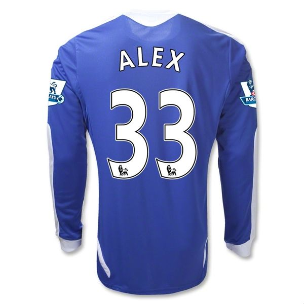 Entertainment Mens ALEX Chelsea Home Long Sleeve Soccer Jersey 11/12