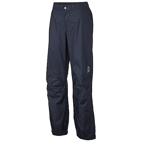 Free Shipping. Mountain Hardwear Women's Plasmic Pant DECENT FEATURES of the Mountain Hardwear Women's Plasmic Pant Dry.Q EVAP accelerates evaporation for more breathability and comfort Partial elastic waist for comfort Articulated knees for mobility Partial elastic hem with Velcro adjustment 9in. ankle zips for easy on/off The SPECS Average Weight: 7 oz / 199 g Inseam: 32in. / 81 cm Body: Dry.Q EVAP 40D 2L Ripstop 100% nylon - $99.95