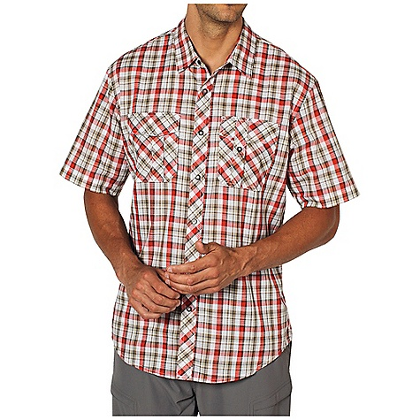 Free Shipping. Ex Officio Men's Jenever Midi Plaid S-S Top DECENT FEATURES of the Ex Officio Men's Jenever Midi Plaid Short Sleeve Top Snap front placket Lightweight: Lightweight fibers make this weigh less than a similar garment The SPECS Natural fit CVC Slub Plaid 60% Cotton / 40% Polyester - $59.95