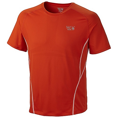 Free Shipping. Mountain Hardwear Men's Way2Cool SS T DECENT FEATURES of the Mountain Hardwear Men's Way2Cool Short Sleeve T Cool.Q Zero provides an immediate and ongoing cooling sensation Rigorously athlete tested MicroClimate Zoning: engineered mesh knit construction for ventilation Wicking, fast-drying fabric Antimicrobial finish controls odor The SPECS Average Weight: 4.4 oz / 126 g Center Back Length: 27in. / 69 cm Body: MCZ engineered Venting Jersey (100% polyester) Panel: Cool.Q Zero Stretch Softie Jersey (92% polyester, 8% elastane) - $64.95