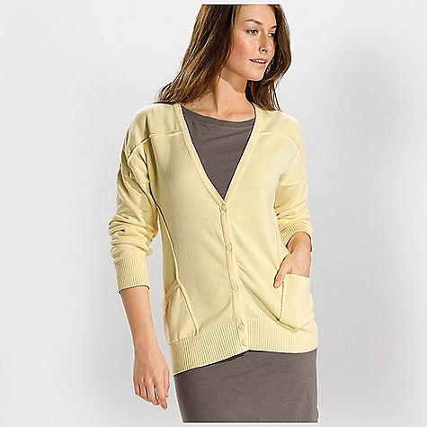 Free Shipping. Lole Women's Grace Cardigan DECENT FEATURES of the Lole Women's Grace Cardigan Long sleeve cardigan 5-button opening at front with 1 button contrast 2 front pockets Cuffs and hem in rib Length: 26in. / 66 cm - $79.95