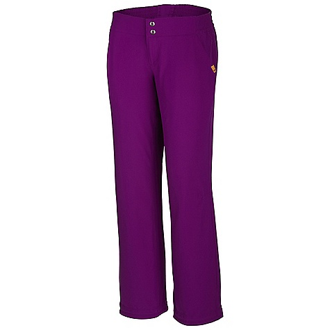Free Shipping. Mountain Hardwear Women's Petrina Pant DECENT FEATURES of the Mountain Hardwear Women's Petrina Pant Two front hand pockets, Two rear pockets One side pocket with zipper for secure storage Engineered waistband with strategically placed elastic for comfortable fit Two low-profile snaps at center-front closure DWR finish repels water The SPECS Average Weight: 9 oz / 261 g Inseam: 30, 32, 34in. / 76, 81, 86 cm Body: Liteclimb Stretch Plain Weave (95% nylon, 5% elastane) - $74.95