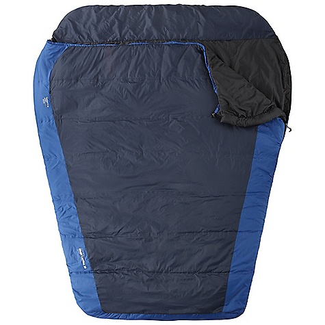 Camp and Hike On Sale. Free Shipping. Mountain Hardwear MegaLamina 20 Sleeping Bag The SPECS Temperature Rating: 20deg F / -7deg C Loft Size: 5in. / 13 cm Stuff: 10in. x 21in. / 25 x 53 cm Shell: 40d Micro ripstop nylon (100% nylon) Insulation: thermal.Q Lining: 40d polyester taffeta (100% polyester) Fill Weight: 4 lbs 10 oz / 2.08 kg Total Weight: 6 lbs 4 oz / 2.81 kg Inside Length: 84in. / 213 cm Shoulder Girth: 136in. / 345 cm Hip Girth: 132in. / 335 cm Foot Girth: 80in. / 203 cm - $183.96