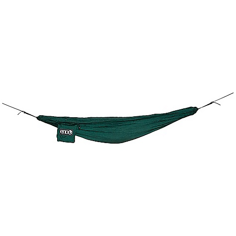 Camp and Hike Eagles Nest UnderBelly Gear Sling FEATURES of the Eagles Nest UnderBelly Gear Sling Durable Woven Nylon Attached Stuff Sack 50lb Capacity - $29.95