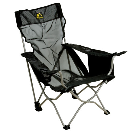Camp and Hike The ALPS Mountaineering Getaway Chair does everything but massage your feet after a day on the coastal trails. Youll have to bribe members of your party to do that. Maybe even let them have turns sitting in your chair for a minute. - $34.97