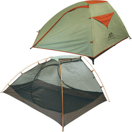 Camp and Hike When camping, do you ever wake up in the night from a dream that you and your tent-mates are three sardines packed in your own juices' Maybe you should invest in a more breathable tentlike the Alps Mountaineering Zephyr 3 Person, 3 Season Tent. - $160.97