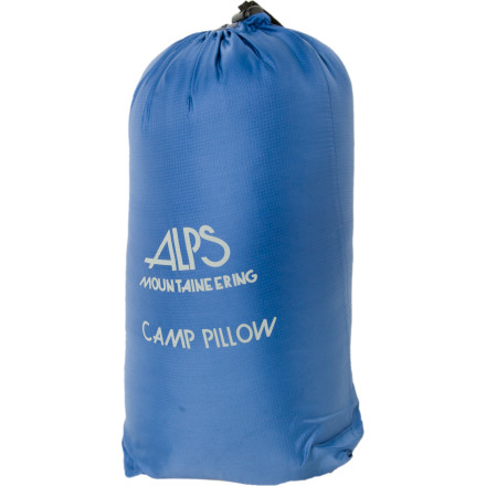 Camp and Hike Finally grown out of your rolled-up-pants-as-pillow stage' Upgrade with the ALPS Mountaineering camp pillow. This pillow keeps your head off the ground and gives your drool a chance to evaporate before it soaks into your tent's floor. - $7.67