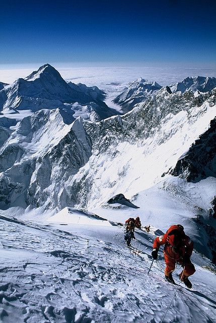 Climbing  K2 expedition