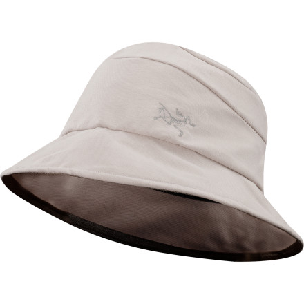 Entertainment Whether you're casting after big browns in your favorite creek or admiring Native American rock art, protect your face, neck and ears from sunburn with the Arc'teryx Kapol Hat. The pliable cotton twill folds up for easy packing in your luggage or day pack. - $38.95