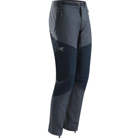 Climbing Stretchy, weather-resistant Fortius fabric in the Arc'teryx Men's Gamma Rock Softshell Pants gives you the flexibility and weather protection you need when you're climbing high in the backcountry. - $178.95