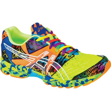 Fitness Aussies may a fun-loving crew, but they take their athletics seriously. Similarly, the Asics Men's GEL-Noosa Tri 8 Running Shoe'named after the famous race Down Under'may be loud and colorful, but it offers hard-core triathletes the features they need, like an upper designed for quick transitions from the bike to run leg, and a platform underfoot designed for quick transition from touchdown to toe-off. Asics shaved nearly an ounce off the Noosa this season, to enable you to fly down the course on your way to a new PR. - $129.95