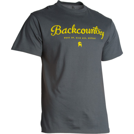 Camp and Hike You're born, you die, and in between it's your job to live life like there's no tomorrow. Good news: the Backcountry.com Men's Life Cycle T-Shirt would happily tag along as your accomplice. From potato gun duels deep in the mountains of Stanley, to raucous nights around the camp fire in Moab, this comfortable cotton shirt understands the 'drive-it-like-you-stole-it' mentality. Just try not to get in too much trouble; the Life Cycle Tee already has a bit of a record. - $5.39