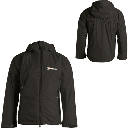 Climbing Whip out the Berghaus Men's Ignite Hooded Jacket when you pull belay duty, and revel in the lightweight, breathable warmth of Primaloft One insulation. A durable shell of Pertex Microlight repels wind, water, and dirt to protect you against the elements and allow allow excess heat and moisture to escape from within. Easily reach your essentials from one of the three exterior pockets design to play nicely with both backpacks and climbing harnesses. Stash the Ignite inside your climbing bag easily thanks to compressible shell and insulation materials that pack down to fit inside the included stuff sac. - $71.98