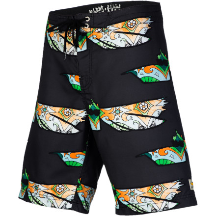 Surf You spend more time in the water than a pelican, so stay comfy while you're out there in the Billabong Andy Davis Pelly II Men's Board Short. - $47.56