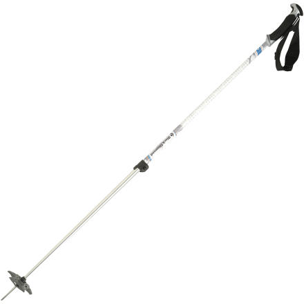 Ski Need a functional, adjustable pole for the backcountry but not willing to break the bank on the carbon fiber jobs' The Black Diamond Boundary Ski Pole is the ticket. The soft, ergonomic grip features an aggressive hook shape for adjusting heel risers and boot buckles, and the durable aluminum shaft takes multiple seasons worth of backcountry beatings. - $43.97