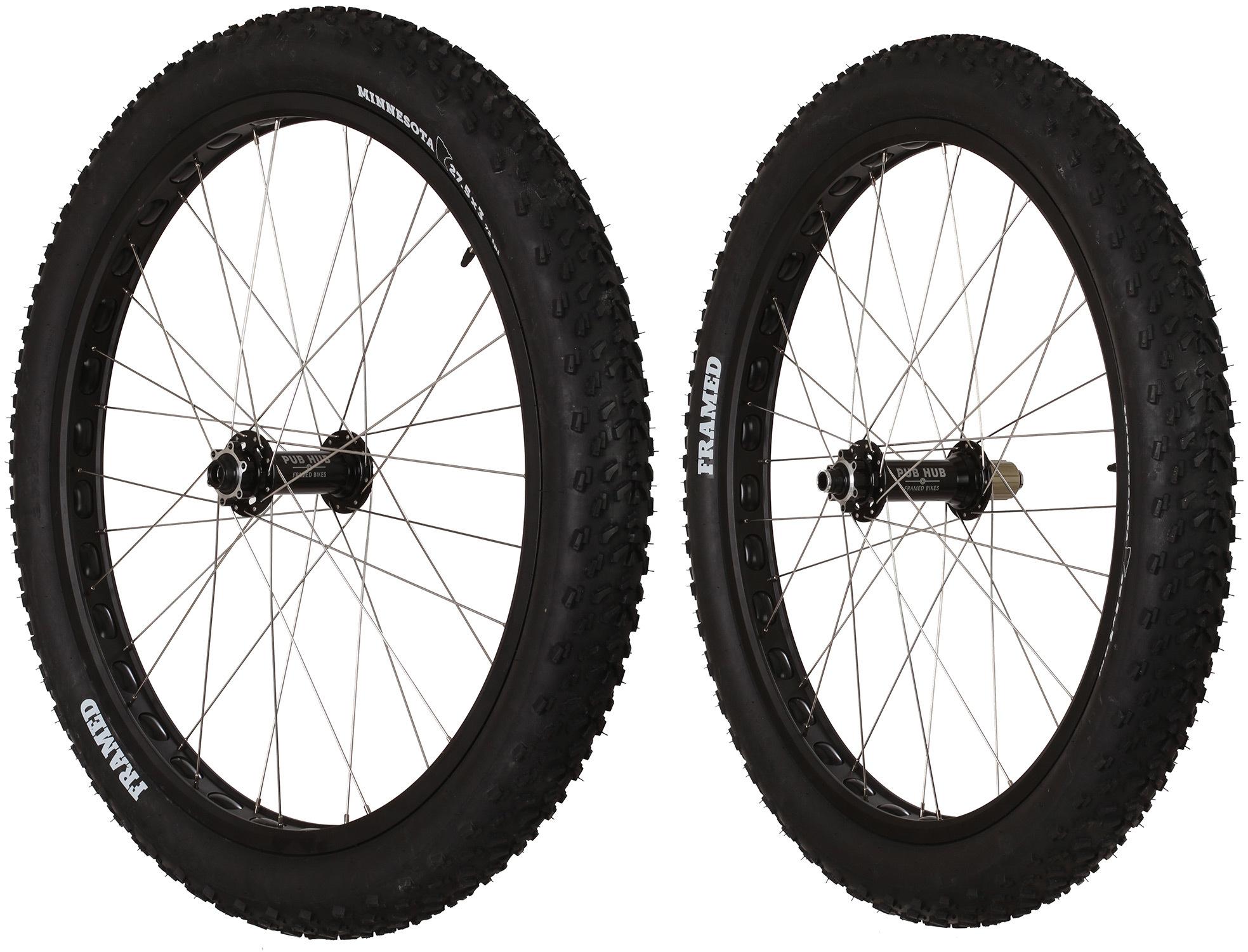 Framed Pro-X 27.5+ x 3.0 F150/R197 HG Wheel Set - $400.00 - Thrill On