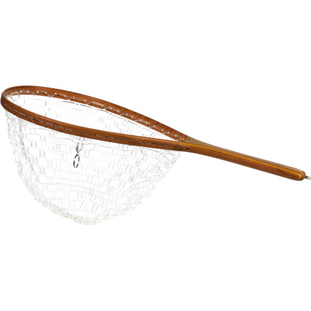 Flyfishing Before wading into your favorite western stream to cast after brookies and rainbows, grab the Brodin Trout Phantom Series Net. The non-native eucalyptus wood frame stands up to extensive sun and water exposure while the thermoplastic Ghost net provides snag-free performance and is gentle on fish. - $74.95