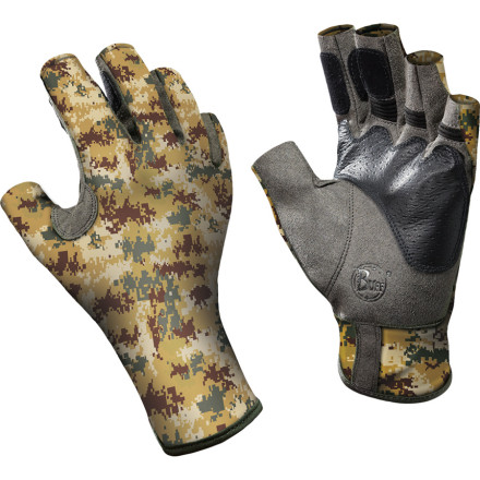 Whether you're waist-deep in a western trout stream or casting after tarpon in the Keys, long fishing days can be hard on your hands, which is exactly why Buff designed the Pro Series Angler II Gloves. The diamond grip palm is equally secure on wet or dry surfaces, and the half-finger design leaves your fingertips free for maximum-dexterity tasks like changing flies, adjusting the drag, and feeling the take. - $40.00