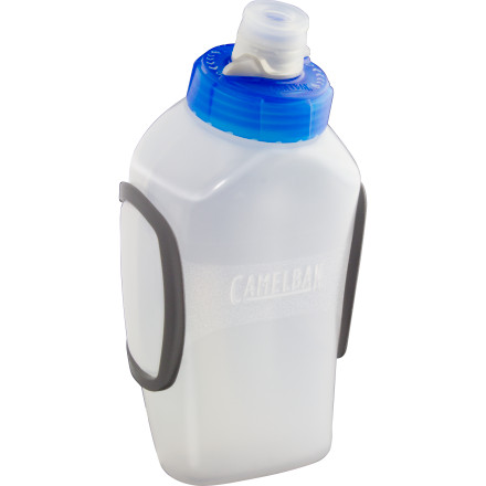 Camp and Hike Camelbak has re-invented the bottle. The Podium Arc 10-ounce water bottle is specially treated to leave your water tasting like water, not plastic. The self-sealing Jet Valve eliminates spilling while you run, and the lockout makes sure there are no spills in the car. - $19.95