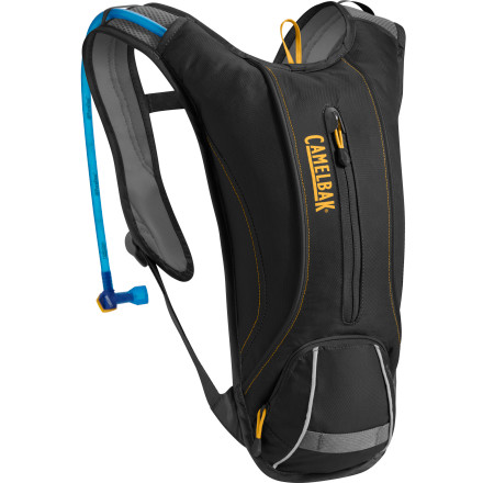 Fitness The Camlebak Dart is the pack for folks who need water and not much else. The 1.5 liter reservoir will keep you hydrated for about two hours of intense training, and the 183 cubic inch pocket will carry your keys, wallet, MP3 player, and an energy bar to keep you from bonking. - $64.95