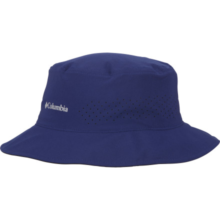 Consider the quick-drying Columbia Silver Ridge Bucket II Hat your tiny little portable shelter from rain and sun alike. This stretchy hat features Omni-Shield advanced repellency so rain just beads up an rolls off its surface; when the sun comes back out, UPF-30 sun-blocking power keeps your skull from scorching. If the weather takes a turn for the tropical, the hat's Omni-Wick fabric whisks moisture away from your head, and laser-cut holes provide breezy ventilation. - $13.98