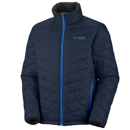 Originally designed as a liner for the parka of the same name, the Columbia Melting Point Jacket was too popular to not offer individually. It's easy to see why: the Melting Point earns its name by using thermal reflective lining and Omni-Heat insulation to greedily keep your body's warmth from the icy claws of Mother Nature. - $55.98