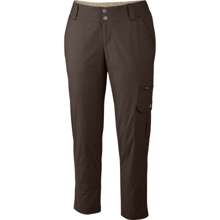 Camp and Hike Slide your legs into the Columbia Women's Crossroads Capris when you want a casual look and enough comfortable flexibility to keep you going on an afternoon hike. - $37.46