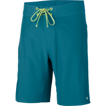 Fitness Pull on the Columbia Men's DrainMaker II Short and beat the heat by jumping into the lake, riding that waves, or running rivers. This short stretches for high-action in any activity and dries in a flash so you don't get the chills or turn into a prune. Omni-Shade sun protection keeps harmful rays at bay, and Omni-Shield repellency helps fend off stray droplets. - $44.96