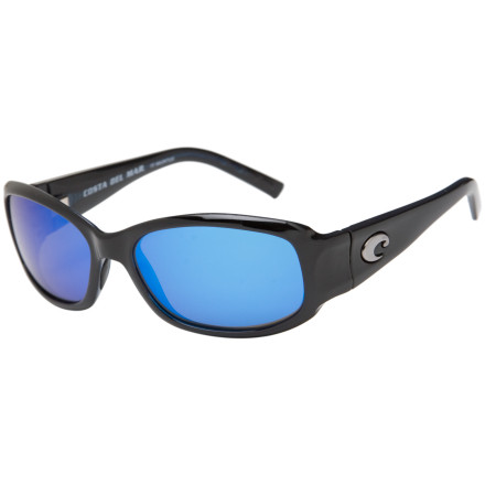 Camp and Hike Slip on the stylish Vela Polarized Sunglasses for a morning walk on the beach along the Pacific. The polarized glass lenses fight off the glare from the ocean and give you exceptional optical resolution. The small frames let you gaze at the ocean without obstructing the view. - $107.37