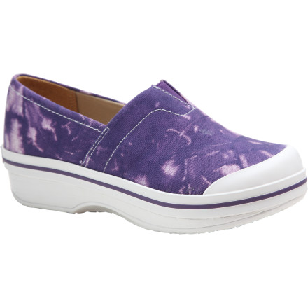 Your friends always expect you to be leading the pack when it comes to fun, funky fashion, and you don't disappoint when you show up for a sleepover in your new Dankso Kids' Vesta Tie Dye Shoe. It may look like of like your favorite sneakers, but the easy slip-on design represents a definite improvement. And there's no beating the ultra-cool tie-dye design on the comfy canvas uppers. - $23.98