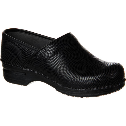 Put some pep in your step with the cushiony, reduced-weight Dansko Women's Pro XP Clog. With triple-density EVA footbed and memory foam with an energetic return, plus supportive midsole and metal shank, you still have tons of hardcore Dansko performance but without the weight or clunk. - $139.95