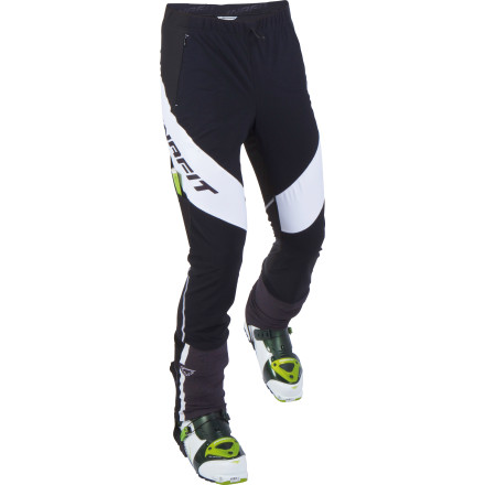 Ski Racers looking to augment their freakishly durable legs with the right gear to cross the finish line first will rejoice in the Dynafit Movement Pant. As simple as the name is, the Movement boasts top-notch and intuitive engineering from Dynafit, including windblock zones and special hem embroidery to incorporate an adjustment system. - $79.98