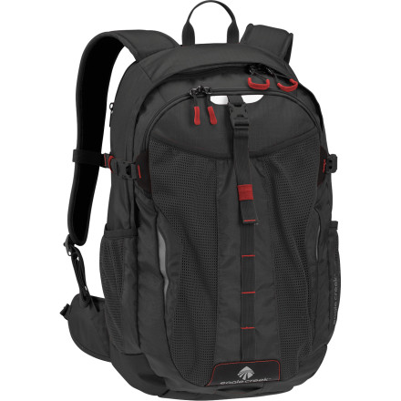 Camp and Hike For the commuter who's constantly on the move, the Eagle Creek Afar Backpack is a fully loaded organizational masterpiece with just a bit more room than standard commuter packs. Maybe you had a little bit of extra work to take care of, maybe you needed to carry a change after your lunch racquetball game, or maybe you just have half a sandwich left over. Whatever the reason, that little bit of room is always welcome. - $110.00
