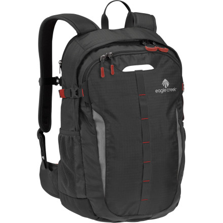 Camp and Hike The folks at Eagle Creek have been making travel simpler for years, so trusting them with simplifying your daily commute is a no-brainer. The Eagle Creek Mountain Valley Backpack has dedicated pockets for your laptop, documents, and electronics, not to mention a ton of other pockets to keep you organized. - $100.00