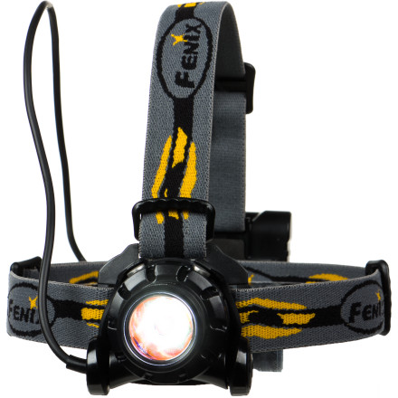 Climbing When you're skiing, climbing, or trekking through the darkness, you need a headlamp that's powerful, versatile, and water-resistant. The Fenix HP11 Headlamp meets the criteria and goes even further. With a maximum 277 lumen output, the HP11 can throw a beam over 500 feet into the darkness and provides a total of seven different lighting options. Plus, the included diffuser lens allows you to completely illuminate the immediate surrounding area. - $64.95