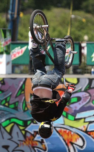 BMX Action Sports Hall of Fame nominee, Ryan Nyquist goes invert.