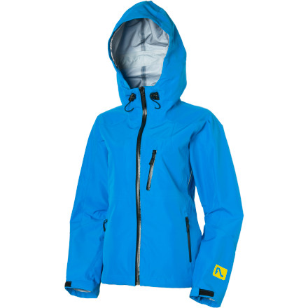 Ski FlyLow gear designed the Women's Masala Jacket for mountain-town girls. Its fabric seals out the wet, provides awesome ventilation, and flexes comfortably when you tour, rappel into a chute, or build a snow cave with your friends. - $107.99