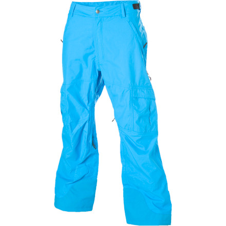 Snowboard Thrash your favorite pow stash while wrapped in FlyLow Gears Stash Pants. And whether that stash is in a backcountry bowl or hidden somewhere in the trees at your local resort, these snow-seeking, fun-loving pants have the features you need on your quest for endless fluff. Waterproof breathable fabric and fully taped seams help prevent wetness from ruining your day\227assuming you dont pee your pants due to all the fun youre having. - $105.98