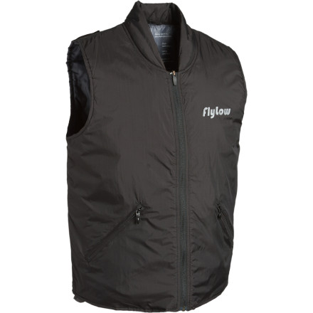 The FlyLow Gear TC Micro-Puff Vest works great as an insulating layer on super-cold days, or as a retro-inspired outer layer for wearing around town. Super-packable micro-puff insulation makes this vest easy to stash in your bag, and a DWR coating resists soaking up snow and rain. - $45.98