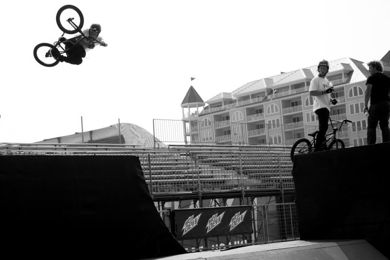 BMX Congrats to Chad Kerley for making the 11 man Semi final tomorrow at Dew tour Ocean City, Maryland.