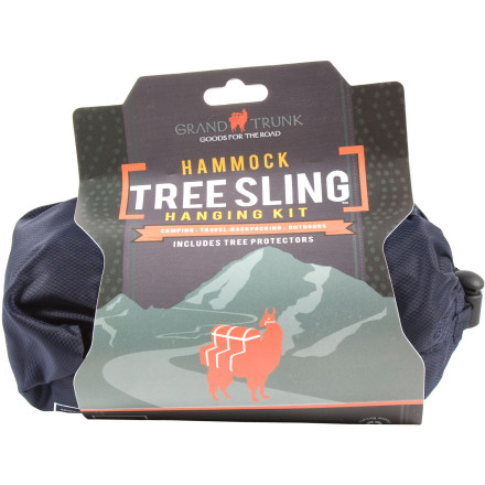 Camp and Hike Instead of damaging the bark on your mother's prized Japanese maple, set your hammock up with the Grand Trunk TreeSling Adjustable Hanging Kit with Tree Protectors. The 20-foot cords allow you to hang the hammock even when the trees are widely spaced, and Tree Protector Socks provide slip-free bark protection. - $19.95