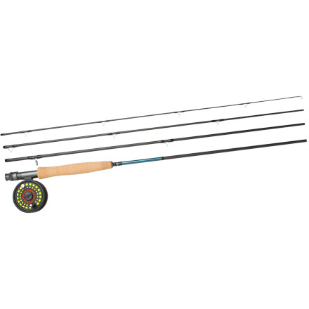 Flyfishing Take the plunge into the world of fly fishing with the Grey's GS Rod and Reel Combo. Offered at an awesome value, you'll have plenty of cash leftover for some flies and a stop at your local watering hole to celebrate your first catch. - $159.00