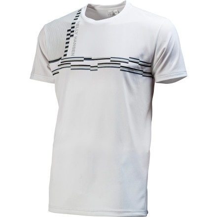 The Helly Hansen Chill Graphic Shirt throws out a relaxed look and uses technical fabric to keep you feeling good when you're working up a sweat. This shirt is great for pick-up games at the park and morning runs. - $17.98