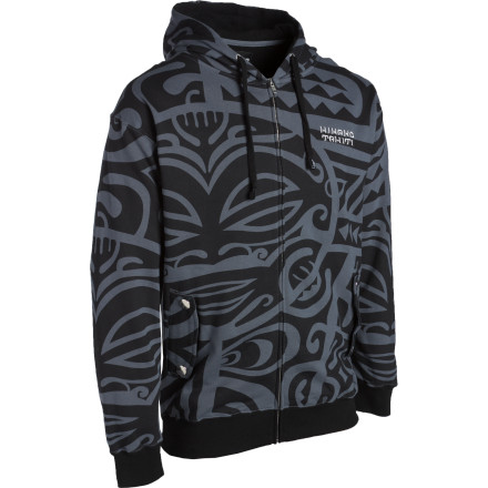 Beach parties make summer worth living, but to find the special VIP area you have to zip up the Hinano Tahiti Tino Full-Zip Hoodie and wander away from the bonfire. - $29.98