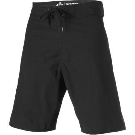 Surf Laid-back style, a classic look that doesn't try too hard, and all-around comfort: that's what you get when you wear the Honolua Unlimited Board Shorts. There is no glitter, no attention-begging branding, and no gimmicks. It's just great quality and smart design. - $29.98