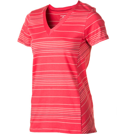 Start your busy day off right by sliding on the Horny Toad Women's Gimlet Short-Sleeve Top. This comfy V-neck top features soft, breathable fabric that puts you in a cheery mood as you start breakfast and contemplate your schedule. - $41.95
