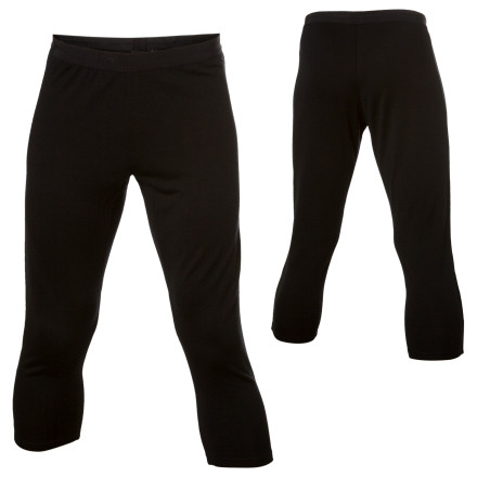Ski Icebreaker knows that ski underwear has a tendency to bunch up with your ski socks and dig into your shins when you put your boots on, so it made the Mens BodyFit260 Legless Bottoms with a  3/4 length. Layer these midweight long johns under shell pants for ski touring or cold days in the resort. The merino wool warms your legs, naturally blocks odors, and never has that chilly-when-you-first-pull-it-on feel. - $35.98