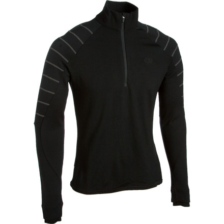 Wear the Icebreaker Mens Sport LTD 320 Peak 1/4 Zip when the going gets cold in the backcountry. This merino midlayer locks in the heat and manages moisture to keep you super comfortable all day. - $67.98